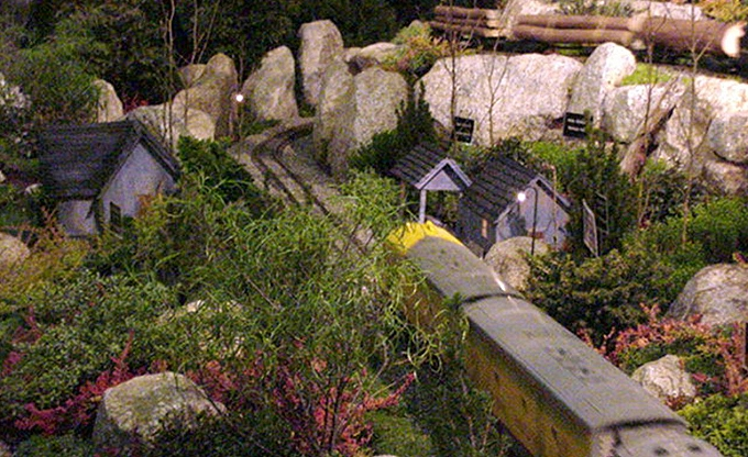 'The Millennium Railway', our labor of love at NWFGS 2000.