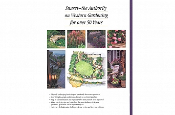 (Back cover) Sunset Western Landscaping Book