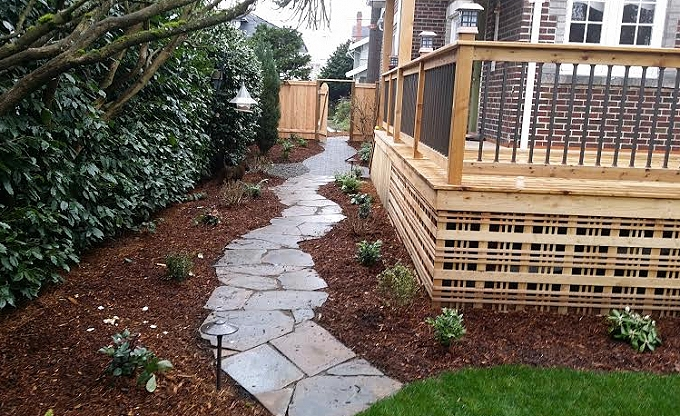 New walks in Queen Anne. (Deck by others). 1/15.