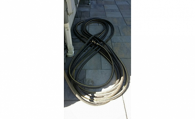 You know when the client coils his hose like this - he cares about his garden...